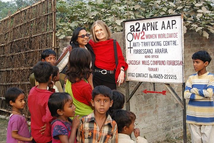 Ruthie Rosenberg story on Richira Gupta and Apne Aap