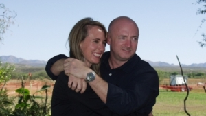Gabby Giffords and husband Mark