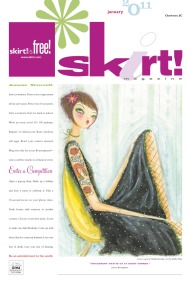 January Cover of skirt!