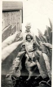 Nikki Hardin and her grandfather