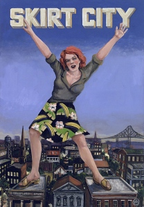 Nikki Hardin, skirt!