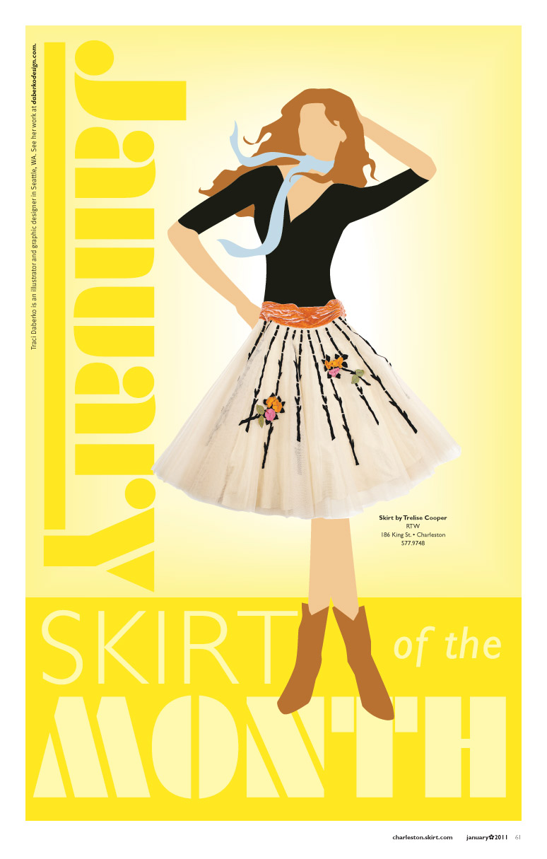 January Skirt of the Month