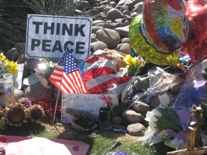 Tucson wants us to think peace