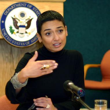 Photo of zainab salbi