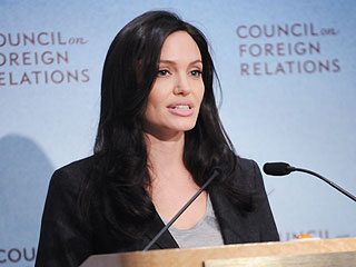 Angelina Jolie/Council of Foreign Relations