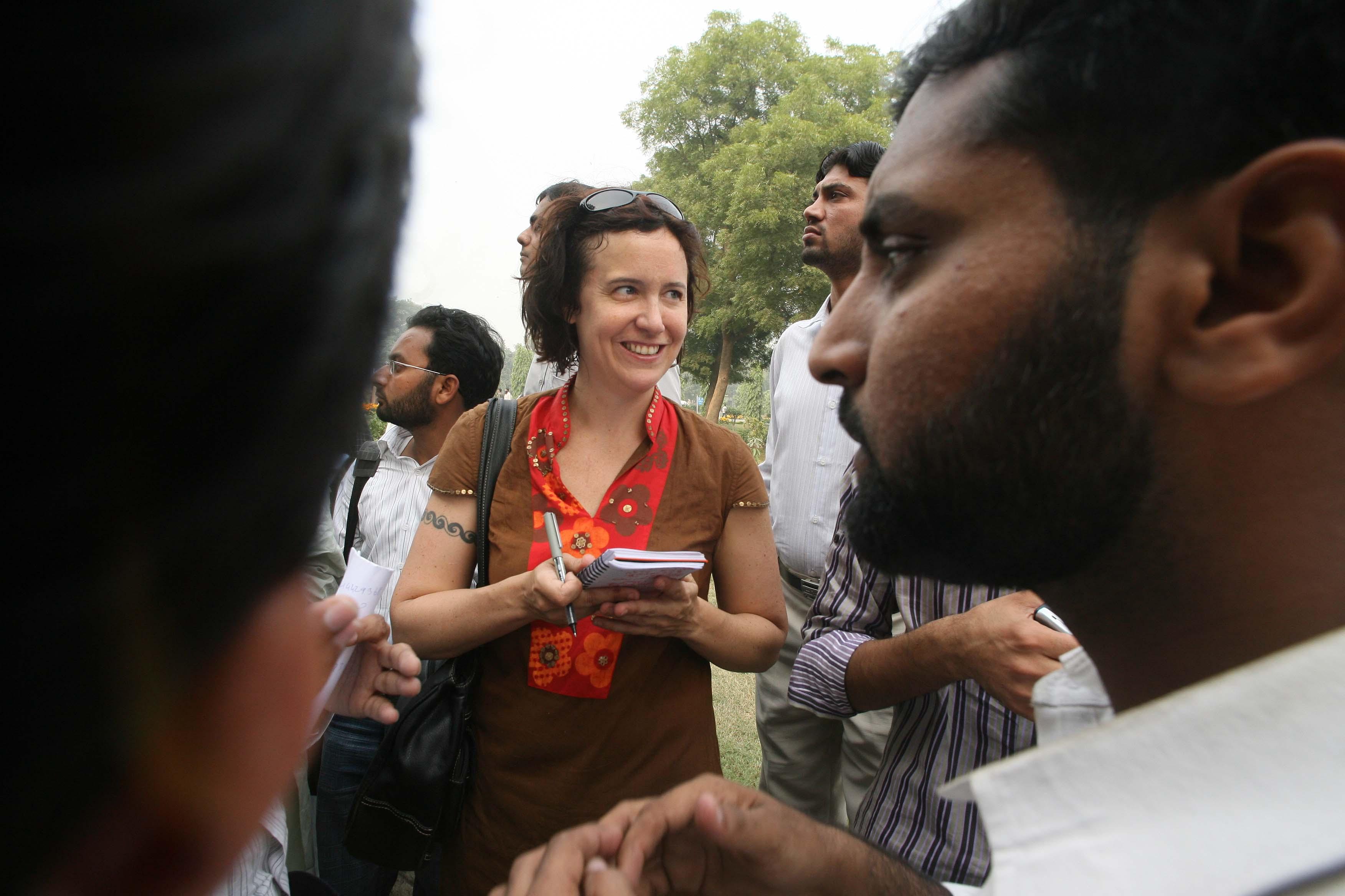 Kim Barker in Lahore