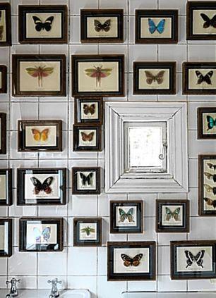 Daniella Issa butterfly bathroom