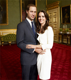 Official Engagement Photo Kate and William