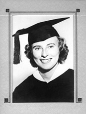 Marion Stoddart's Graduation Photo
