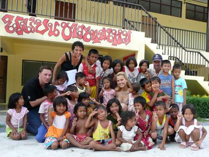 Petra Nemkova in Thailand