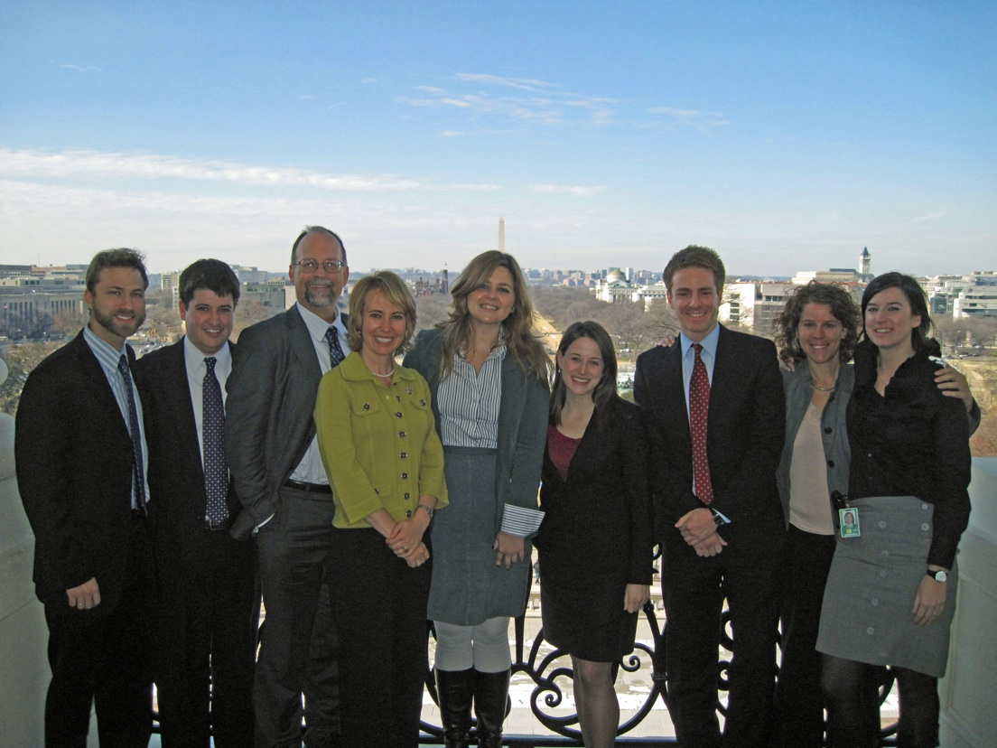 Rep. Giffords, Pia, and their Washington DC staff