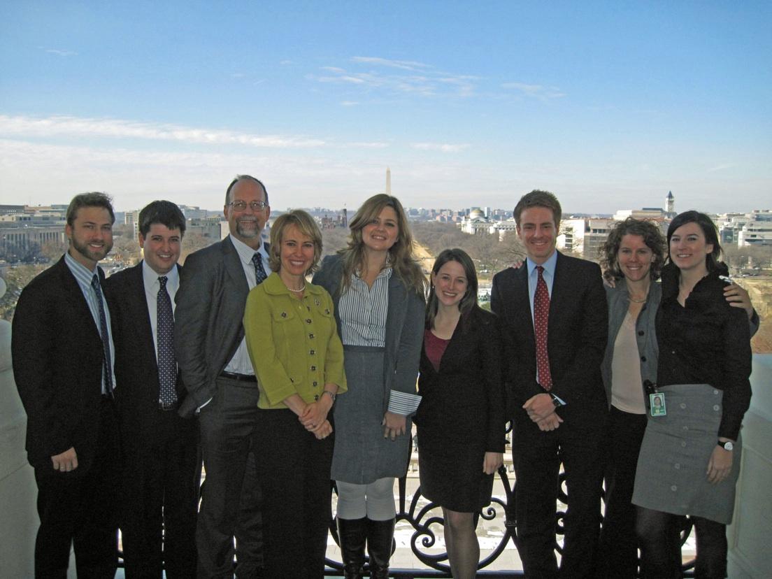 Rep. Giffords, Pia, and their Washington DC staff