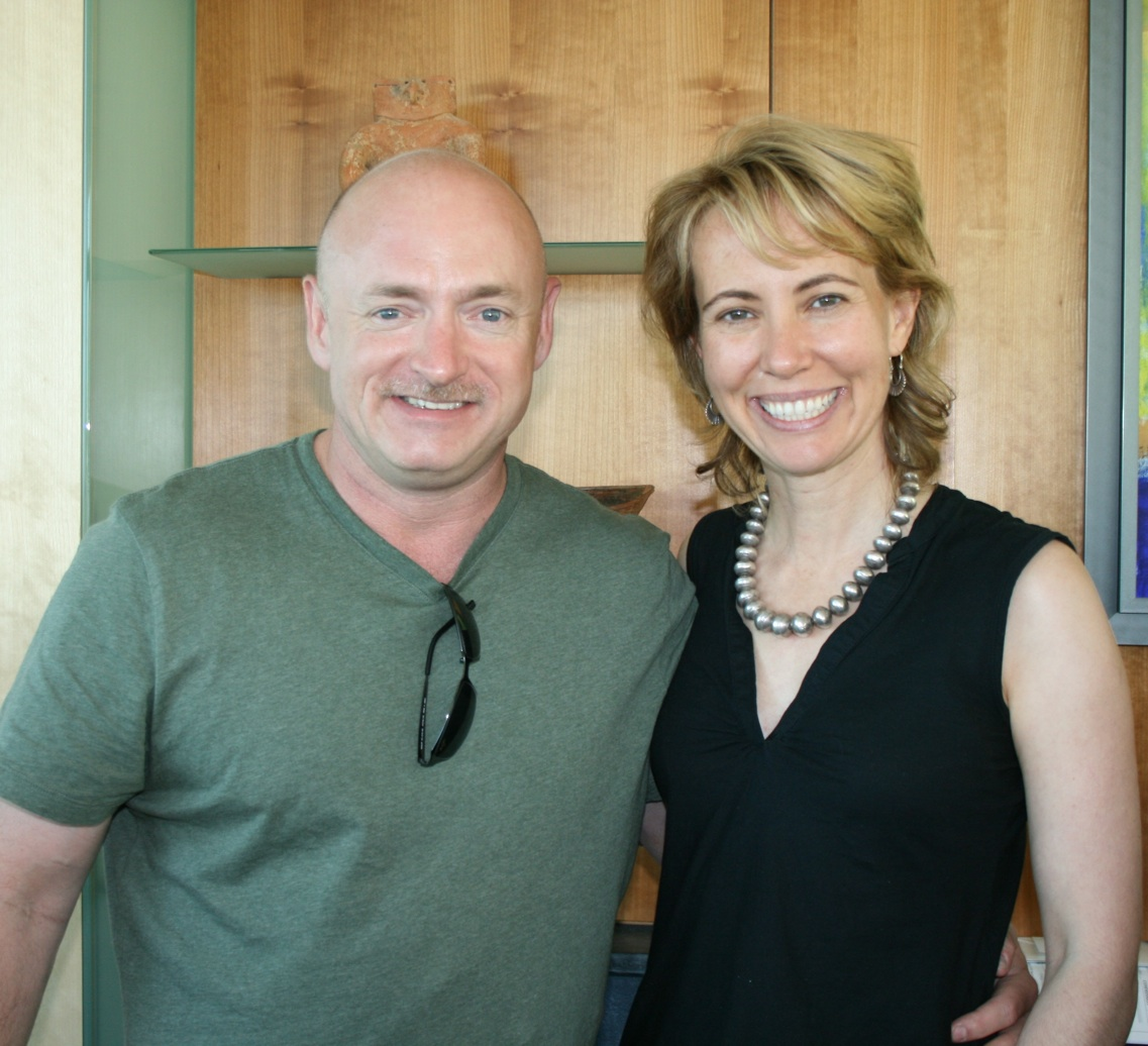 Rep. Giffords and husband Mark