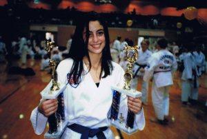 Taekwondo champ Rebecca Welsh
