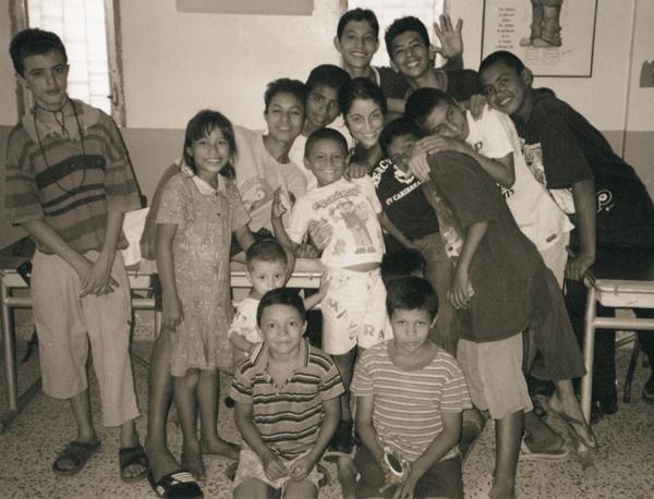 Rebecca Welsh in Honduras