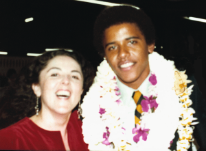 Obama and Mother from Janny Book