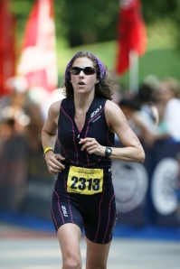 Alissa Finerman doing Ironman