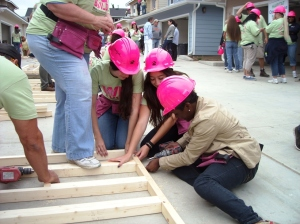 They Drilled at habitat