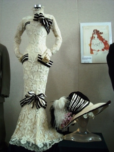 "Audrey Hepburn's costume in ""My Fair Lady"""