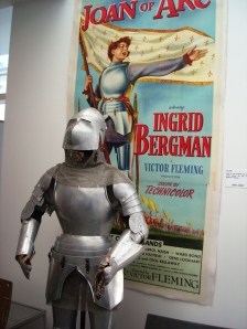 "Ingrid Bergman's Armor from ""Joan of Arc"""