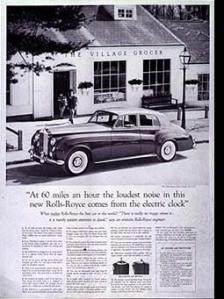Rolls Royce Ad