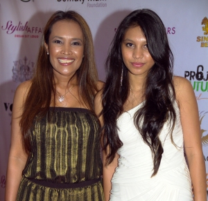 Somaly and her daughter