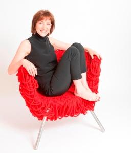 Lisa Roberts in Vermelha Chair