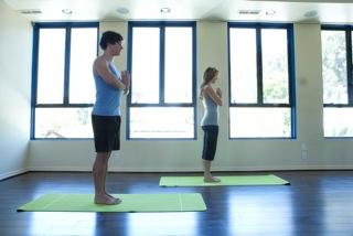 Yoga Class at ESP Wellness for The Women's Eye website