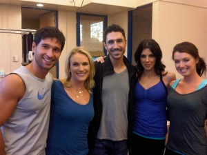 "Ethan Zohn ""Survivor: Africa"" champ and friends"