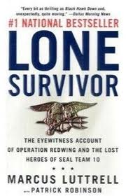 Lone Survivor Book Cover by Marcus Luttrell