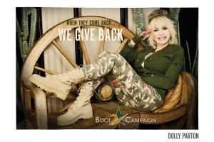 Boot Girls Campaign with Dolly Parton