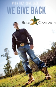 Marcus Luttrell for the Boot Girls