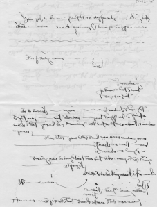 O'Keeffe letter to Stieglitz 11/12/16 from Yale University